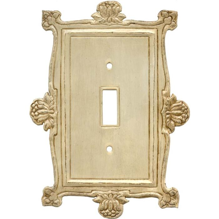 Flower1 Toggle Light Switch Cover
