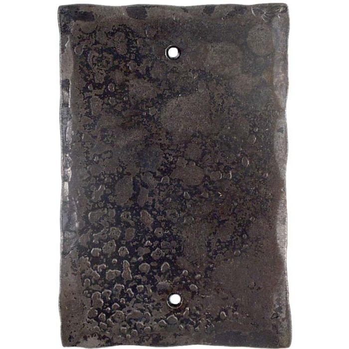 Forged Metal Blank Wall Plate Cover