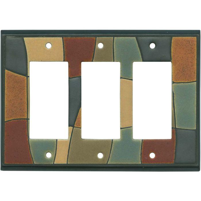 Fragments Ceramic3 - Rocker / GFCI Decora Switch Plate Cover