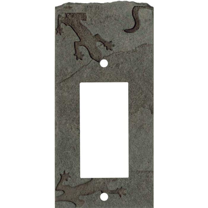 Gecko Petra Single 1 Gang GFCI Rocker Decora Switch Plate Cover