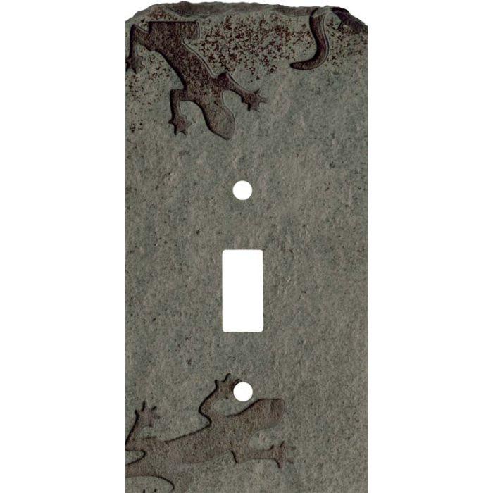 Gecko Petra Single 1 Toggle Light Switch Plates