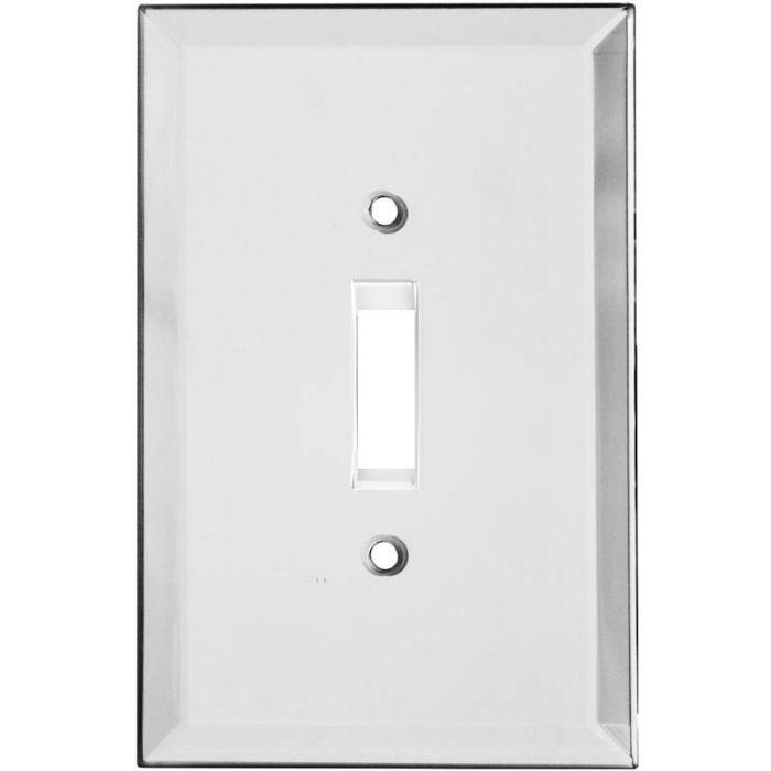 Glass Mirror Single 1 Toggle Light Switch Plates