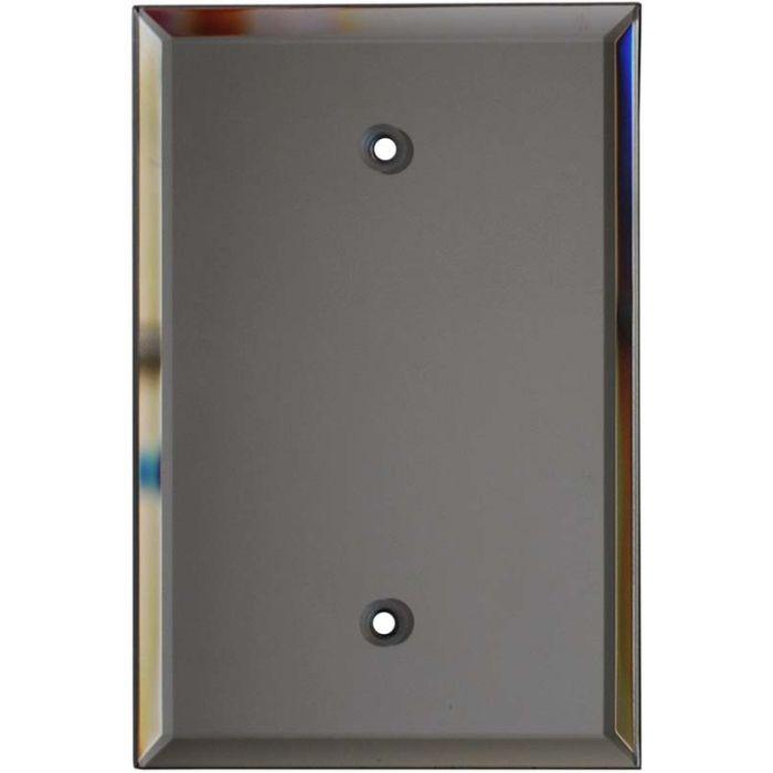 Glass Mirror Grey Tint - Blank Wall Plates