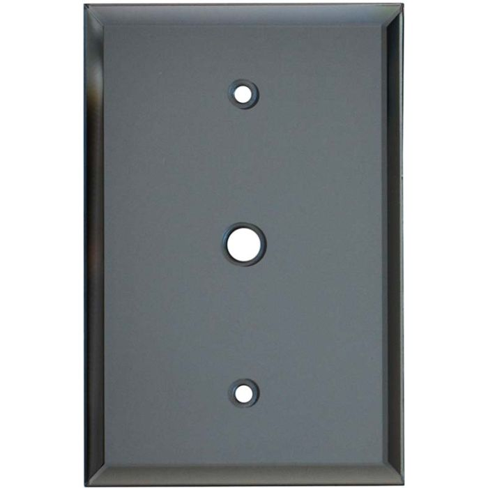 Glass Mirror Grey Tint - Cable Wall Plates