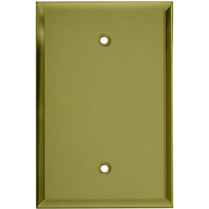 Glass Mirror Yellow - Blank Wall Plates