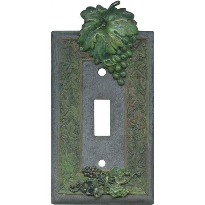 Grape Bunch Single 1 Toggle Light Switch Plates