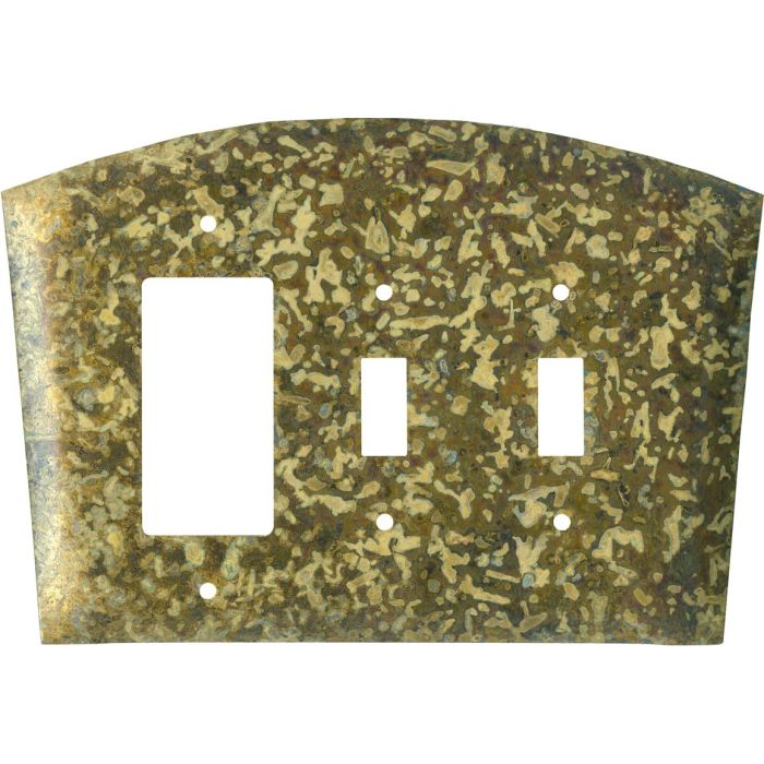 Green 1-Gang GFCI Decorator Rocker Switch Plate Cover