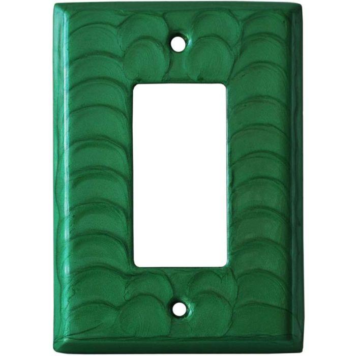 Green Motion Single 1 Gang GFCI Rocker Decora Switch Plate Cover