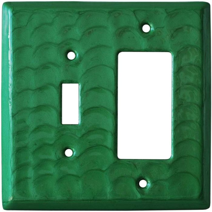 Green Motion Combination 1 Toggle / Rocker GFCI Switch Covers