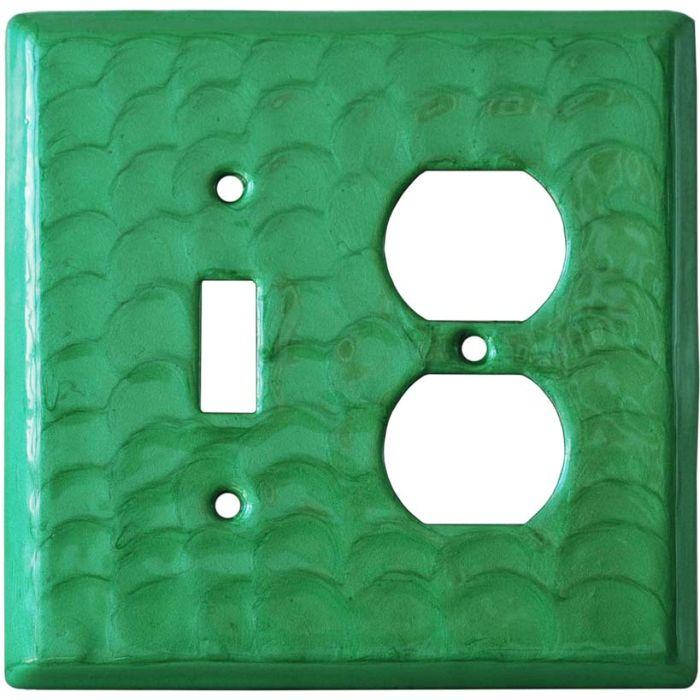 Green Motion - Combination 1 Toggle/Outlet Cover Plates