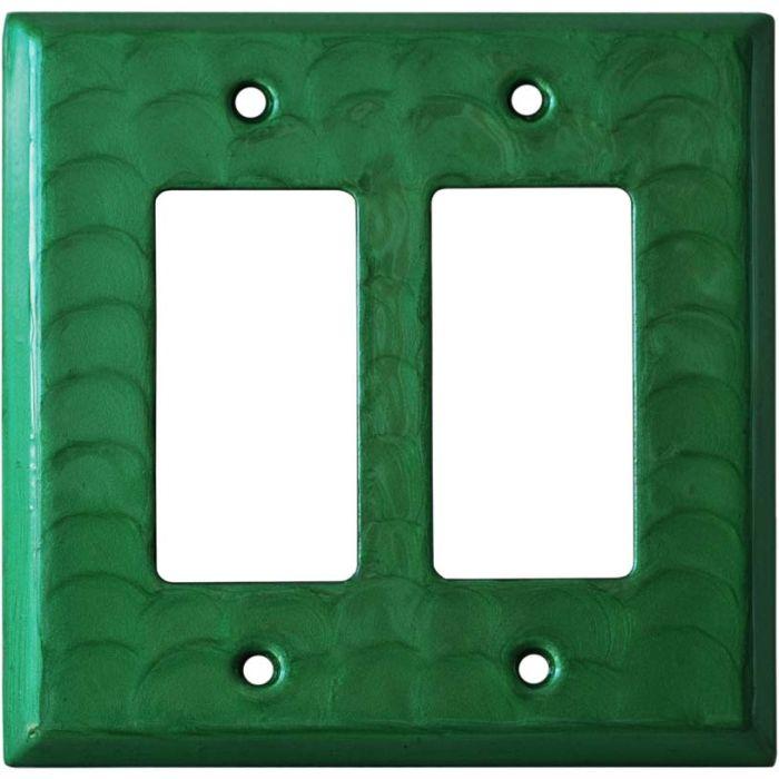Green Motion - 2 Gang Double GFCI Rocker Wallplates