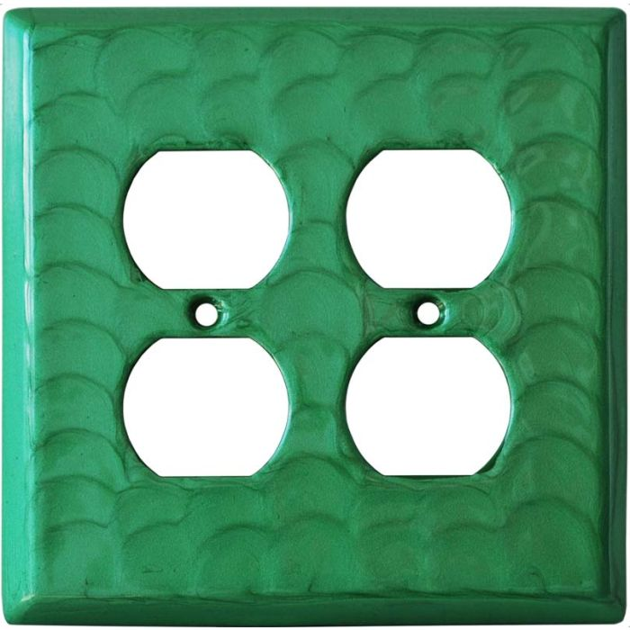 Green Motion 2 Gang Duplex Outlet Wall Plate Cover