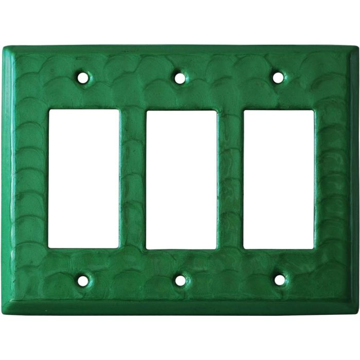 Green Motion - 3 Rocker GFCI Decora Switch Covers