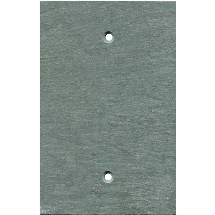 Green Slate1 Gang Blank Wall Plates