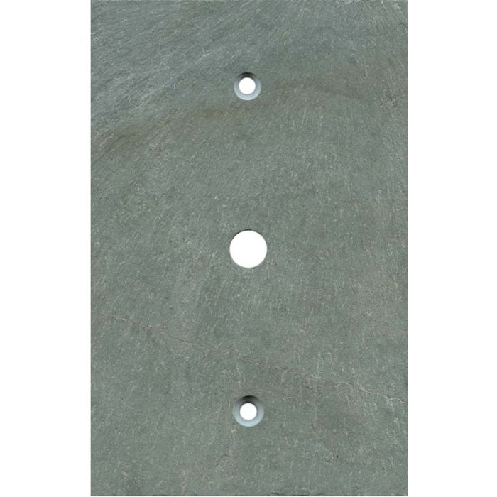 Vermont Green Slate Coax Cable TV Wall Plates
