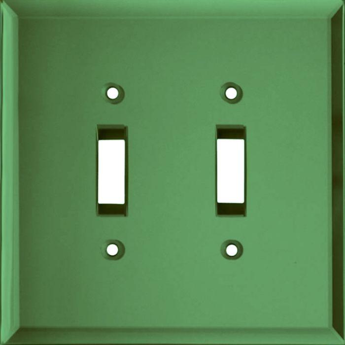 Glass Mirror Green