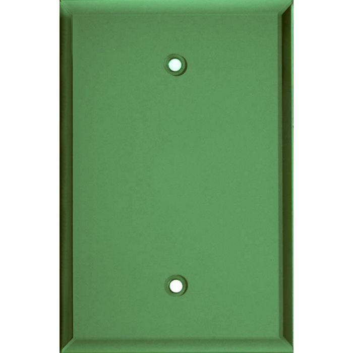 Glass Mirror Green Blank Wall Plate Cover