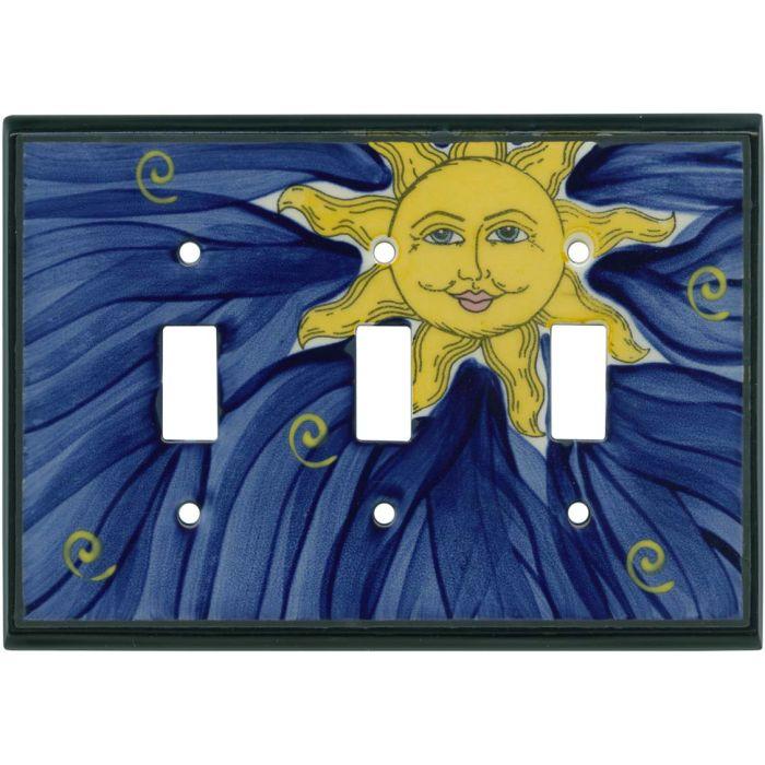 Grinning Sun Ceramic3 - Toggle Switch Plates