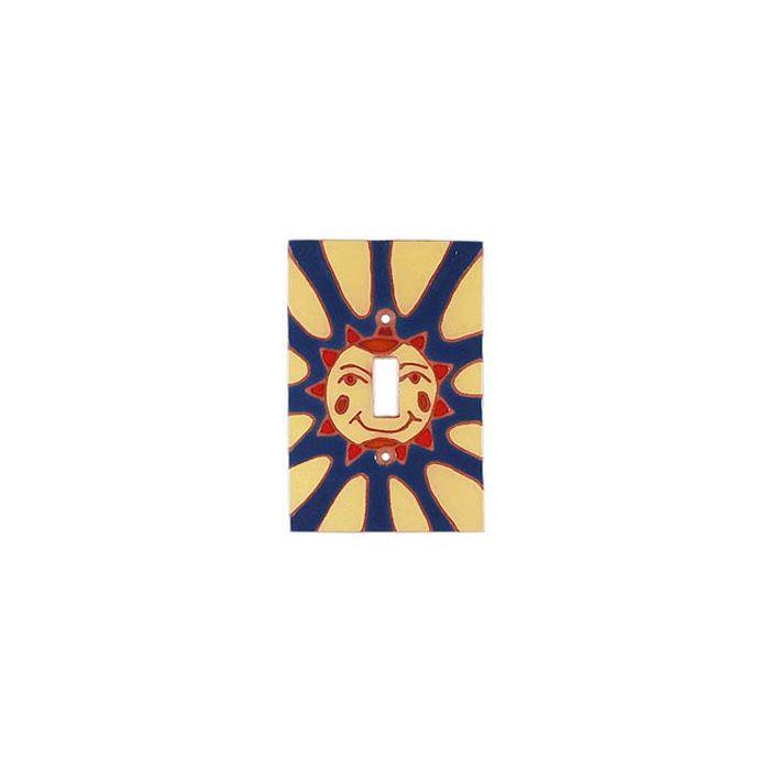 Happy Sun - 1 Toggle Light Switch Plates