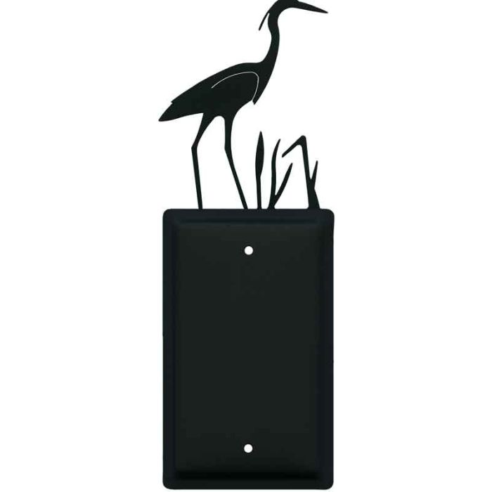 Heron Blank Wall Plate Cover