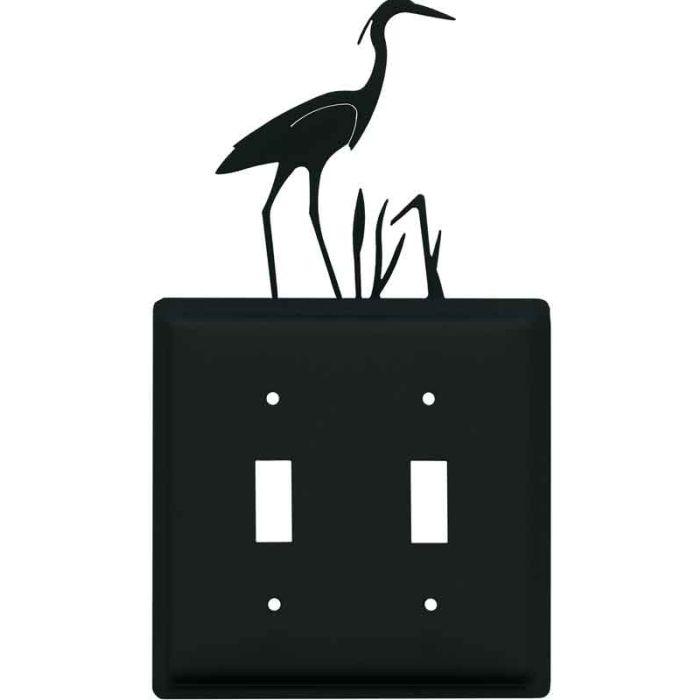 Heron 2 Toggle Switch Plates