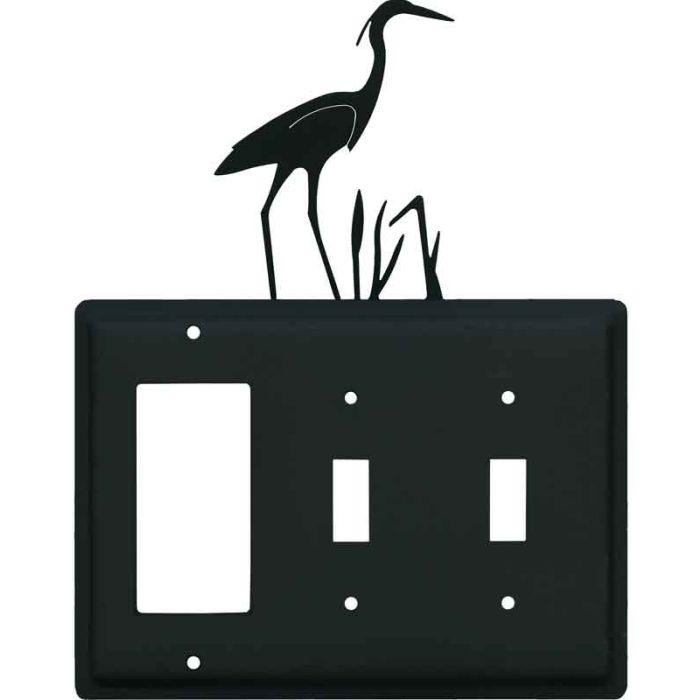Heron 1-Gang GFCI Decorator Rocker Switch Plate Cover
