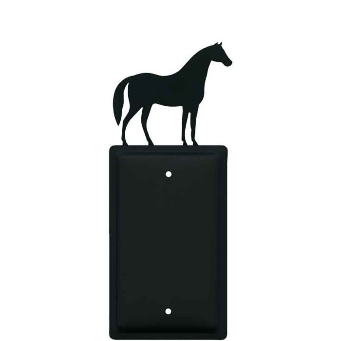 Horse Blank Wall Plate Cover