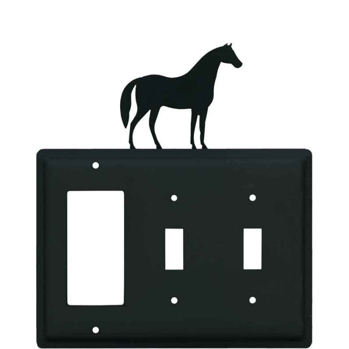 Horse 1-Gang GFCI Decorator Rocker Switch Plate Cover
