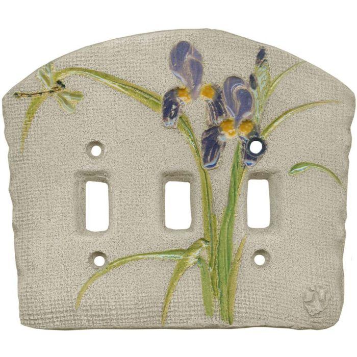 Iris Purple3 - Toggle Switch Plates