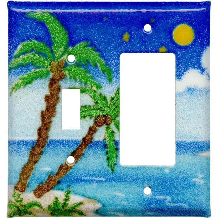 Island Combination 1 Toggle / Rocker GFCI Switch Covers