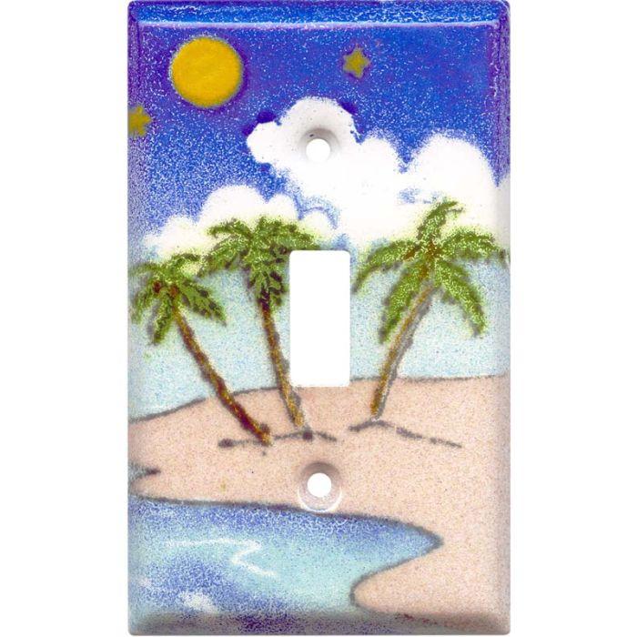 Island Single 1 Toggle Light Switch Plates