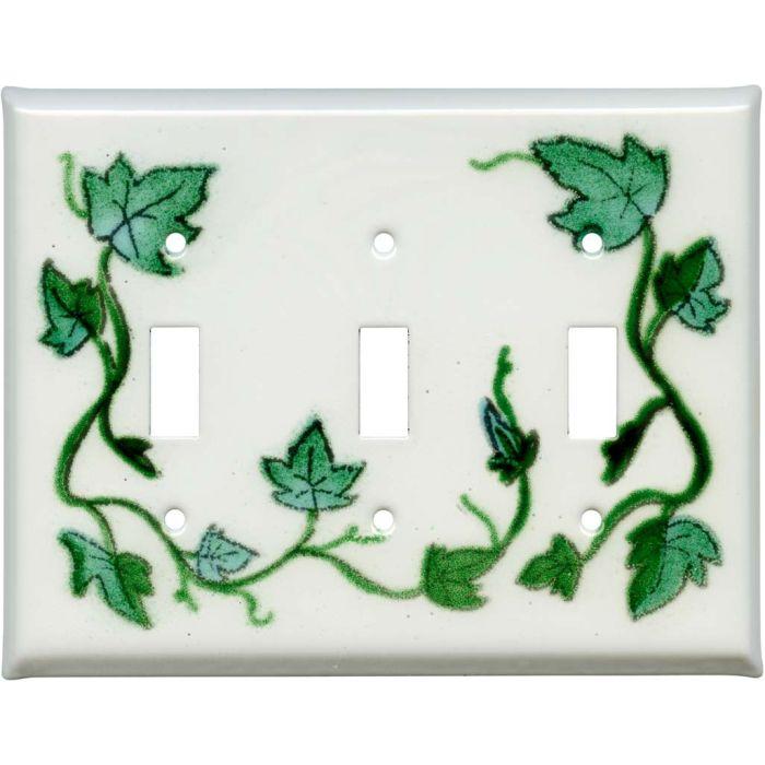 Ivy Vine3 - Toggle Switch Plates