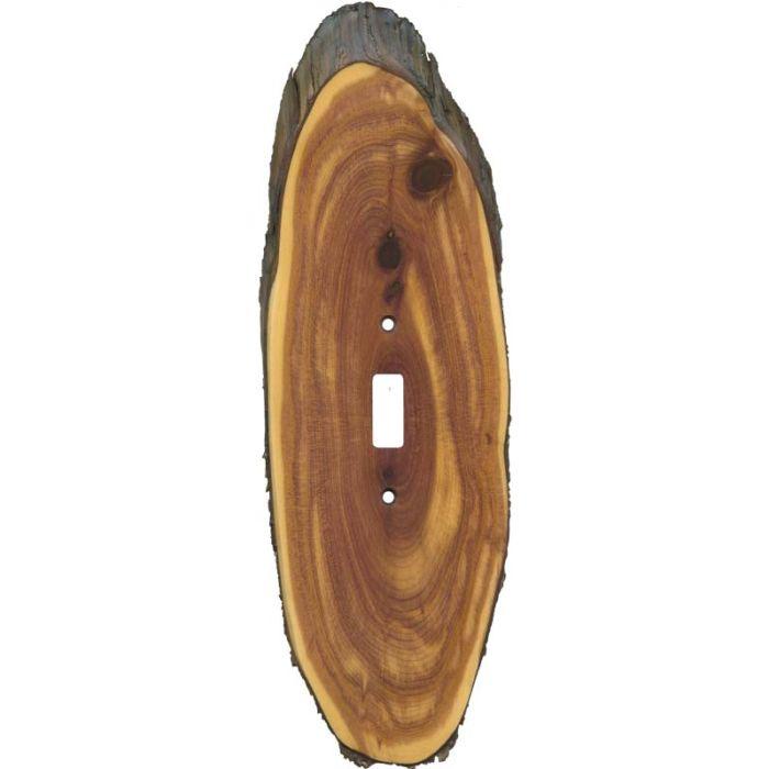 Juniper Slice Single 1 Toggle Light Switch Plates