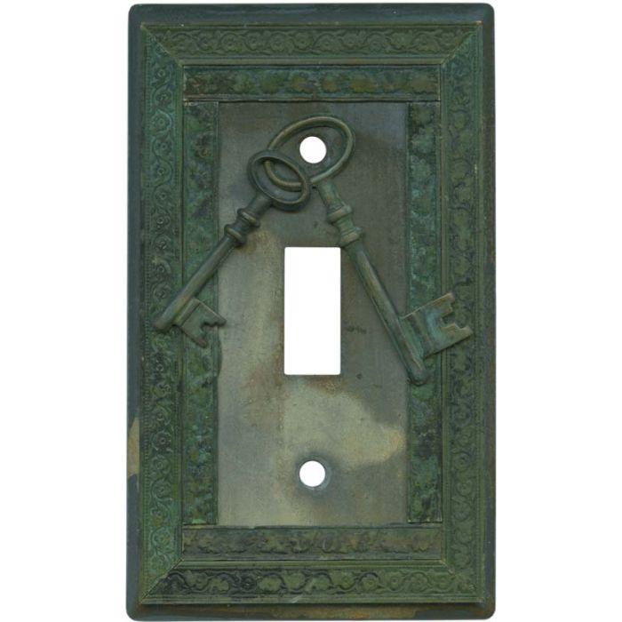 Keys Single 1 Toggle Light Switch Plates
