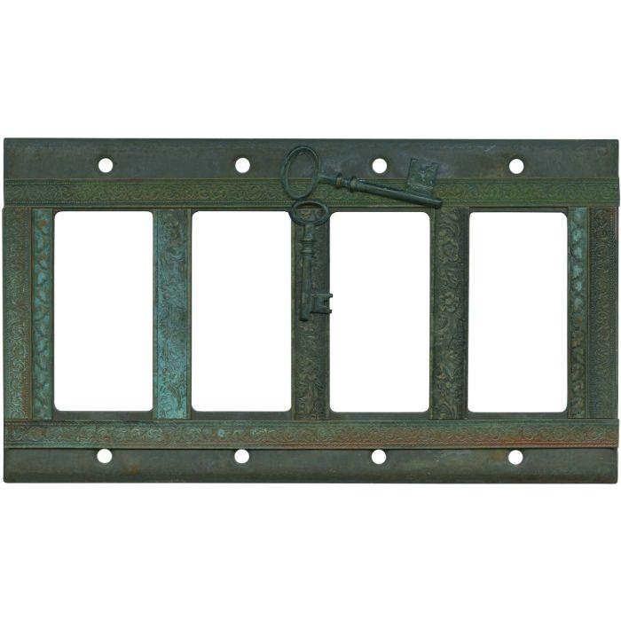 Keys 4 Rocker GFCI Decorator Switch Plates