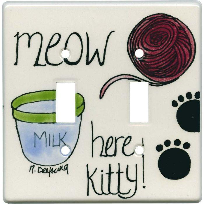 Kitty 2 Toggle Switch Plates