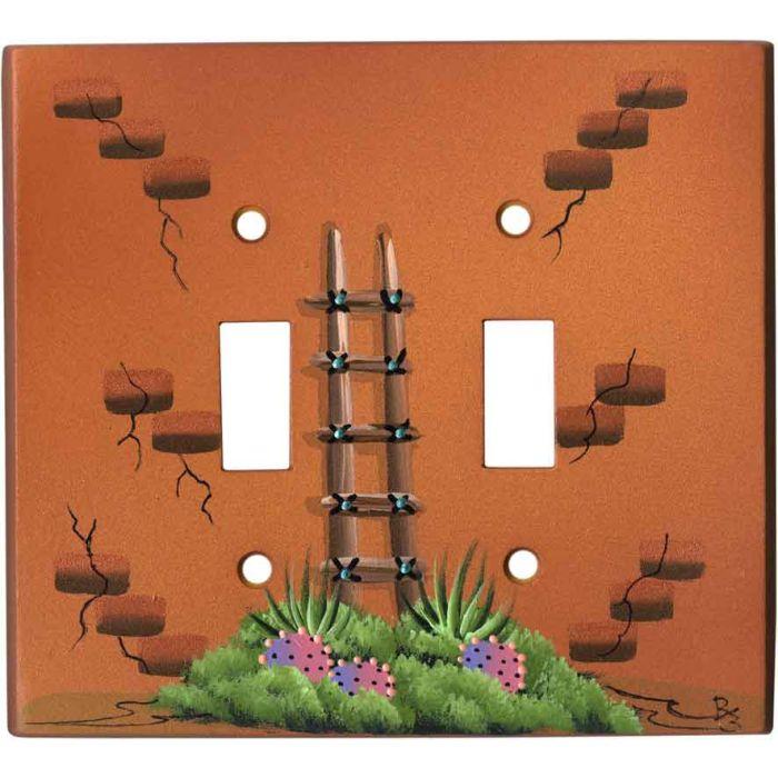 Kiva Ladder on Honey Brown