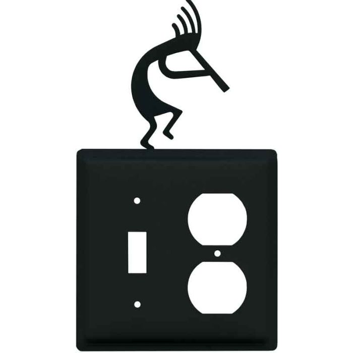 Kokopelli Combination 1 Toggle / Outlet Cover Plates