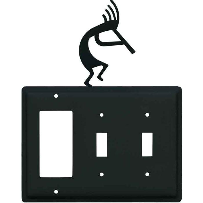 Kokopelli1-Gang GFCI Decorator Rocker Switch Plate Cover