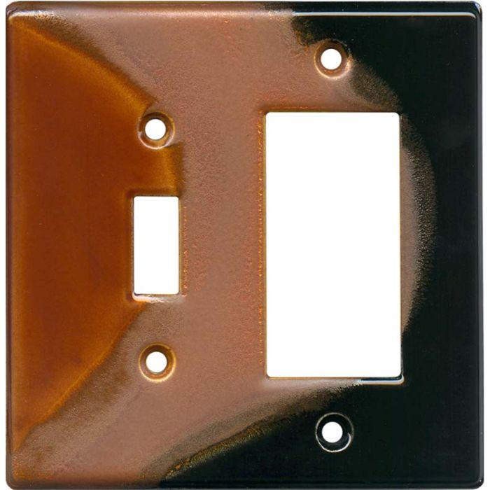 Lava - Combination 1 Toggle/Rocker Switch Covers