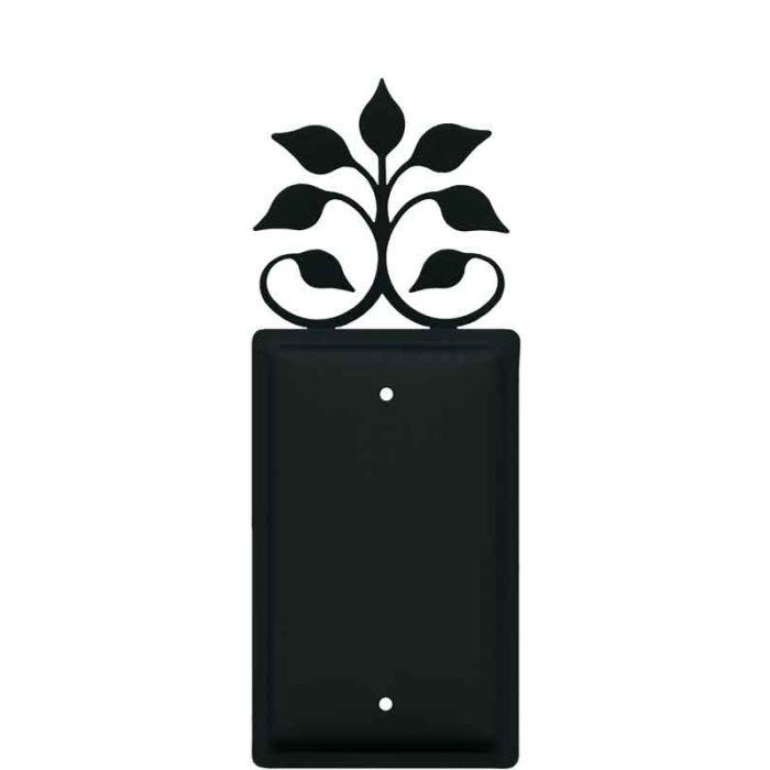 Leaf Fan Blank Wall Plate Cover