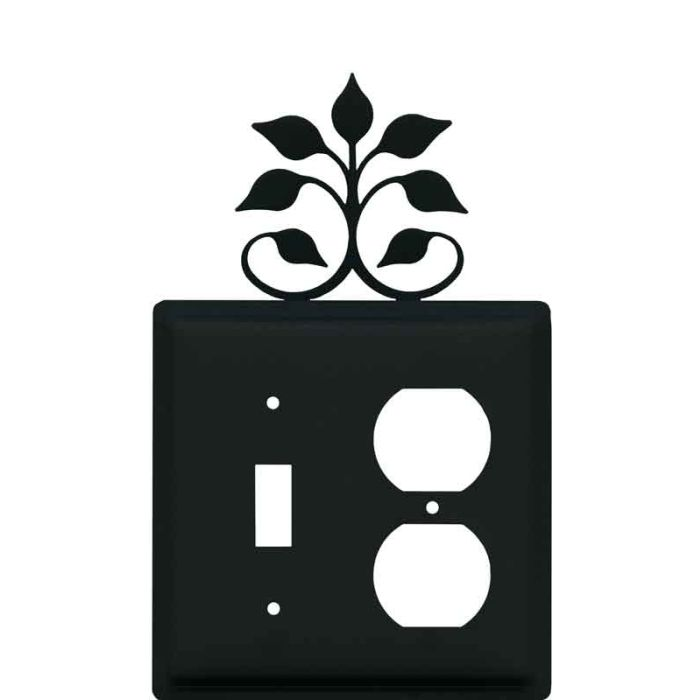 Leaf Fan Combination 1 Toggle / Outlet Cover Plates