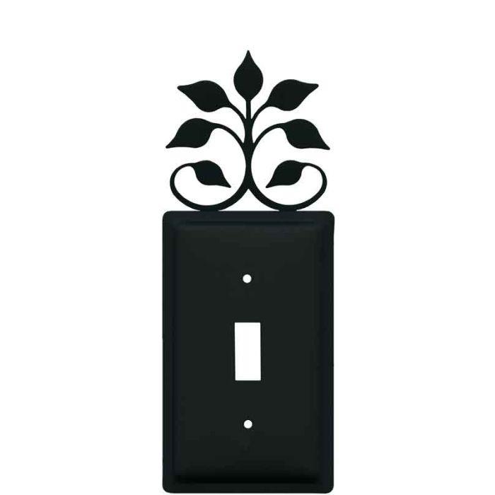 Leaf Fan Single 1 Toggle Light Switch Plates
