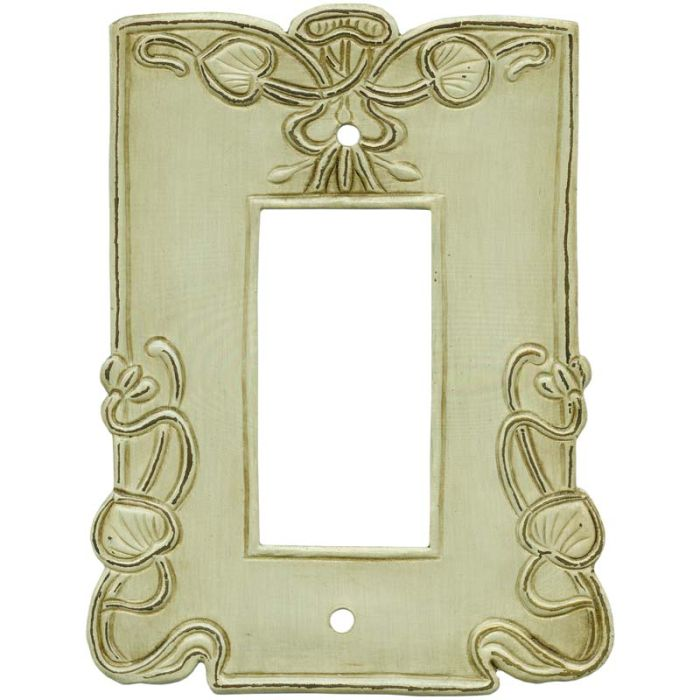 Lily Pads1-Gang GFCI Decorator Rocker Switch Plate Cover