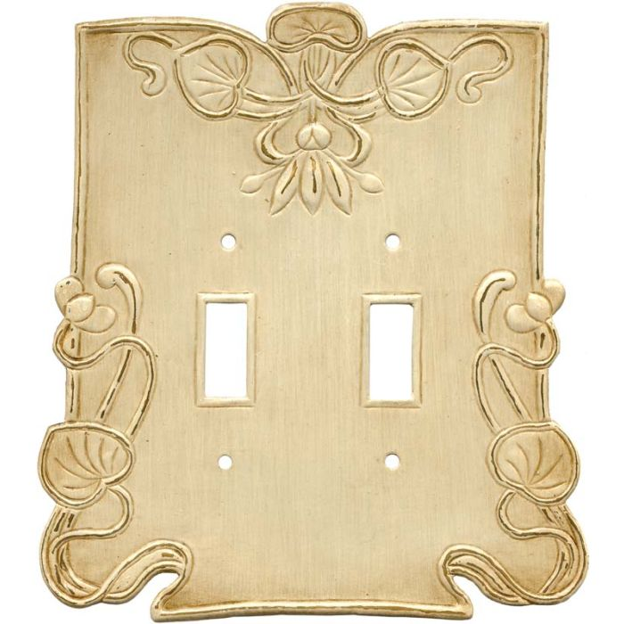 Lily Pads2 Toggle Switch Plates