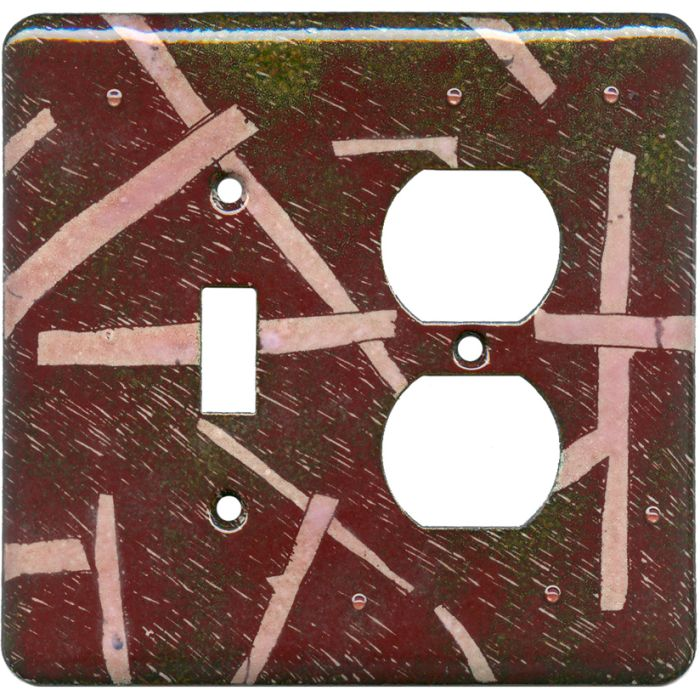 Lines Combination 1 Toggle / Outlet Cover Plates