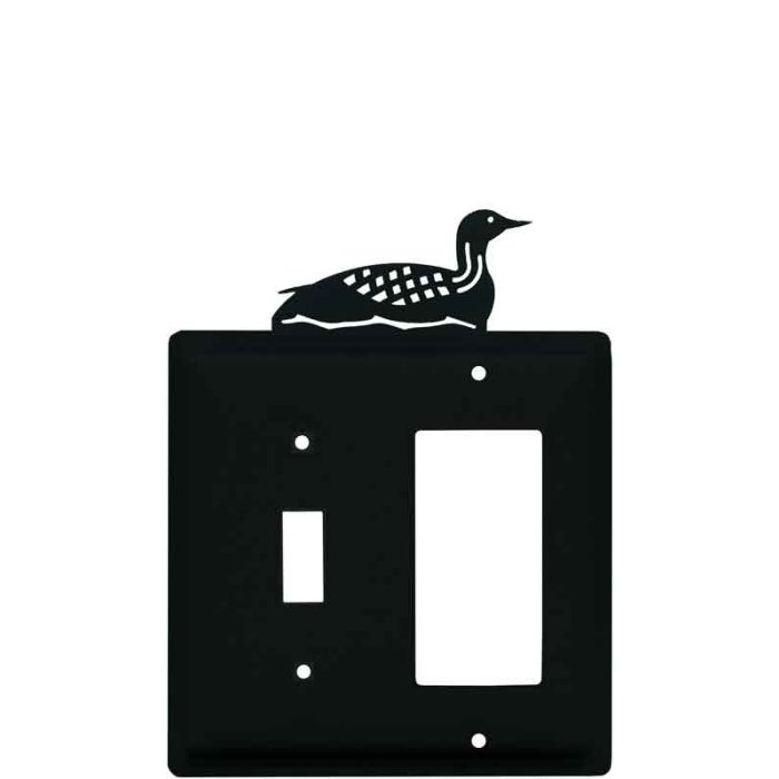 Loon Combination 1 Toggle / Rocker GFCI Switch Covers
