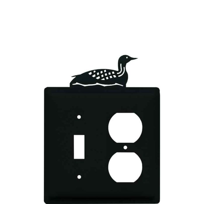 Loon Combination 1 Toggle / Outlet Cover Plates