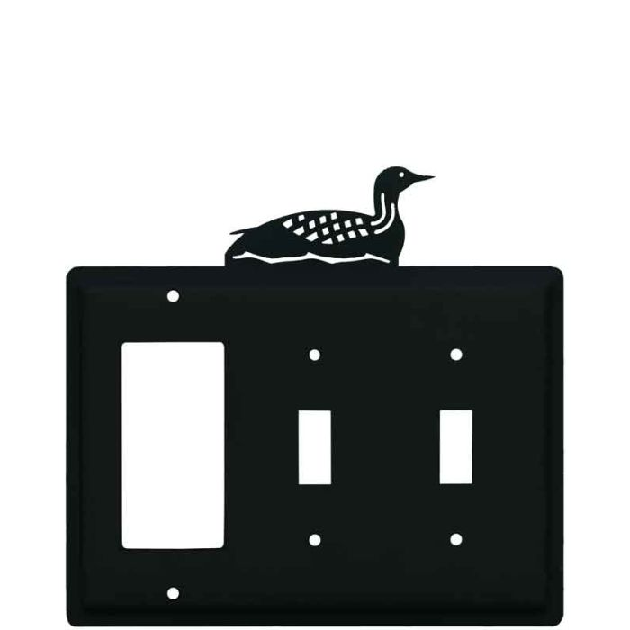 Loon 1-Gang GFCI Decorator Rocker Switch Plate Cover