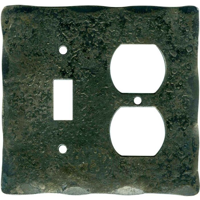 Forged Metal Combination 1 Toggle / Outlet Cover Plates